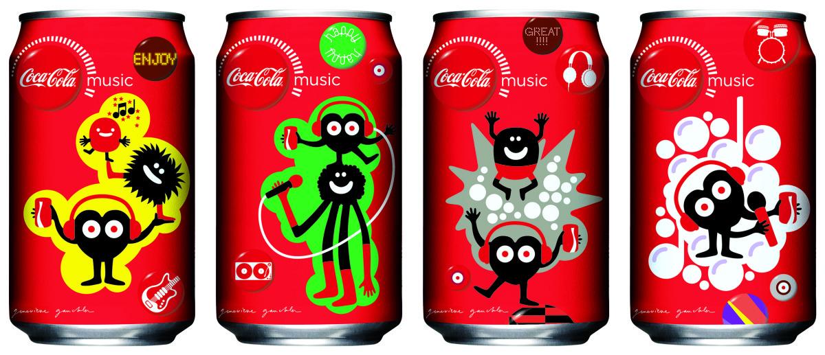 "Geneviève Gauckler / Commercial Work / CocaCola Hong Kong<span class=""slide_numbers""><span class=""slide_number"">2</span>/5</span>"
