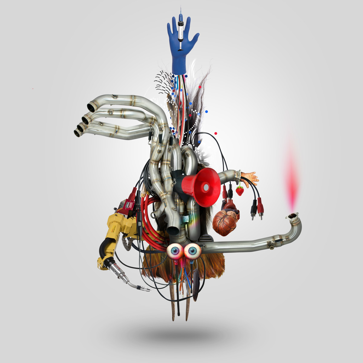 "Geneviève Gauckler / Personal Work / Organic Robots<span class=""slide_numbers""><span class=""slide_number"">2</span>/4</span>"