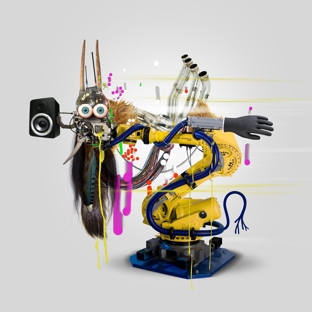 "Geneviève Gauckler / Personal Work / Organic Robots<span class=""slide_numbers""><span class=""slide_number"">3</span>/4</span>"