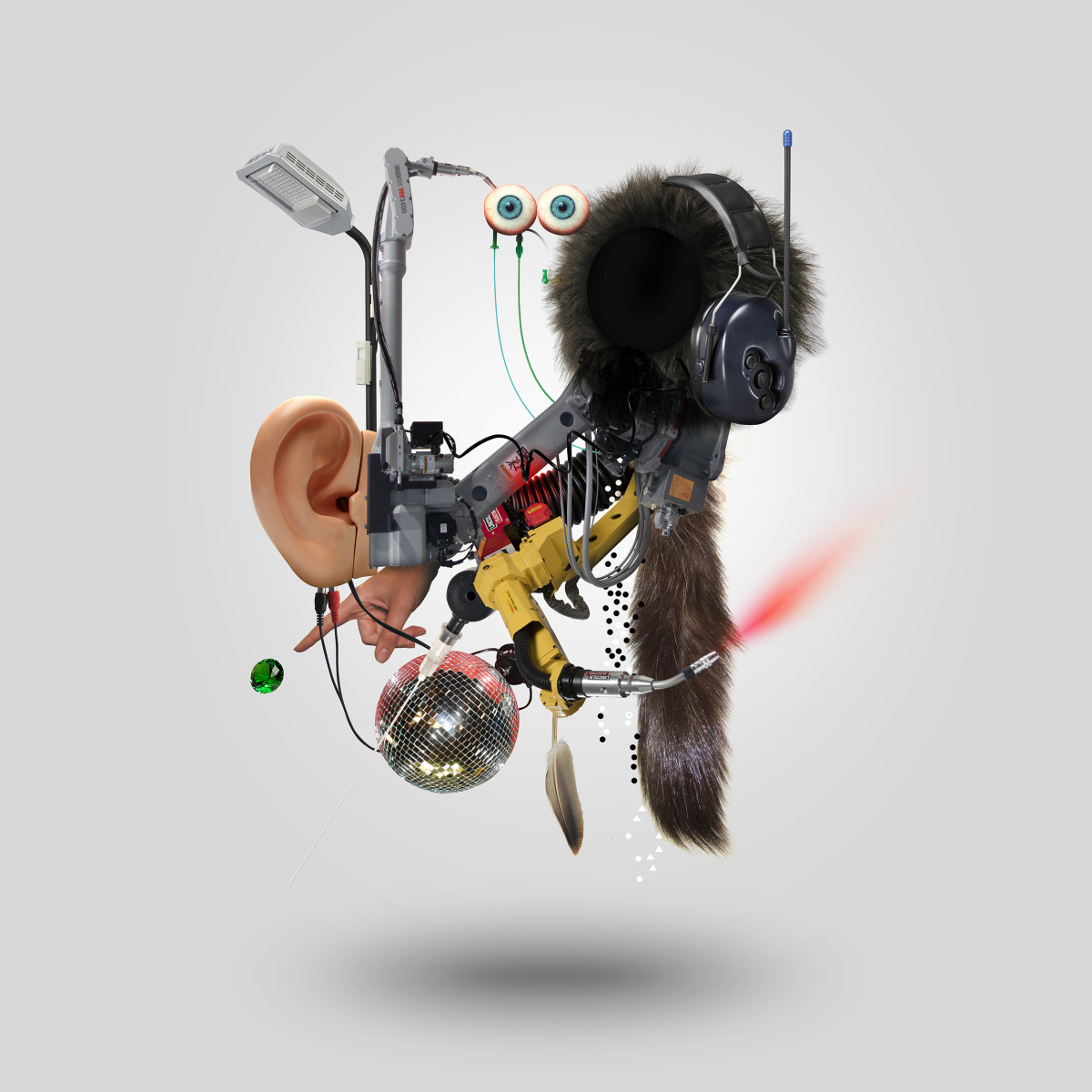 "Geneviève Gauckler / Personal Work / Organic Robots<span class=""slide_numbers""><span class=""slide_number"">4</span>/4</span>"