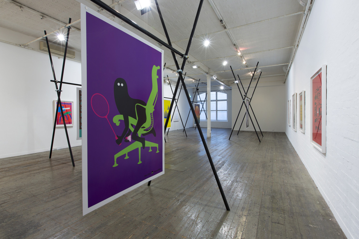 "Geneviève Gauckler / Exhibition / Herman Miller - Then x 10<span class=""slide_numbers""><span class=""slide_number"">1</span>/2</span>"