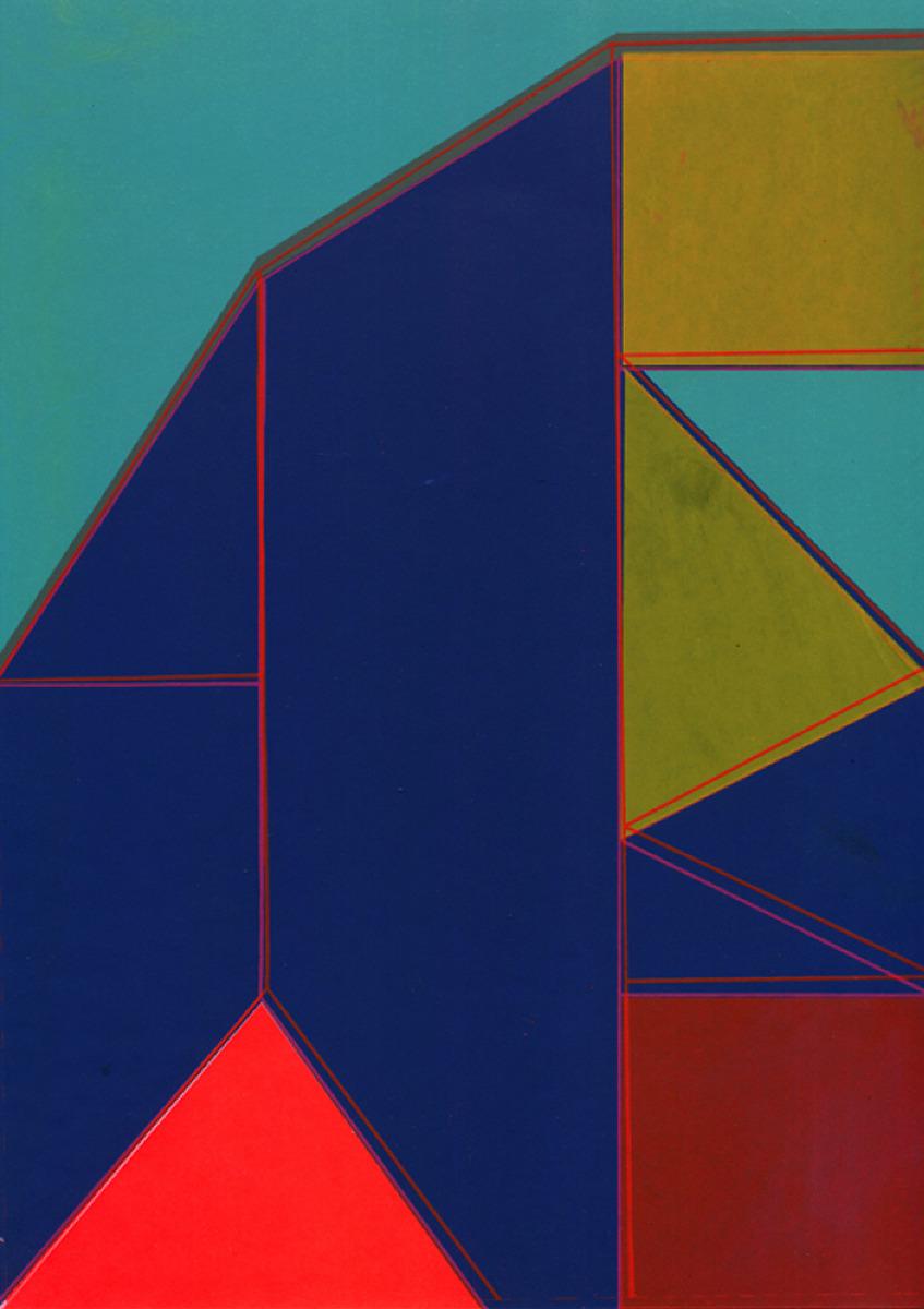 "Kate Gibb / Personal Work / Grid & Geometric<span class=""slide_numbers""><span class=""slide_number"">1</span>/5</span>"