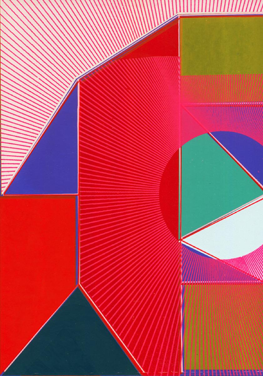 "Kate Gibb / Personal Work / Grid & Geometric<span class=""slide_numbers""><span class=""slide_number"">2</span>/5</span>"