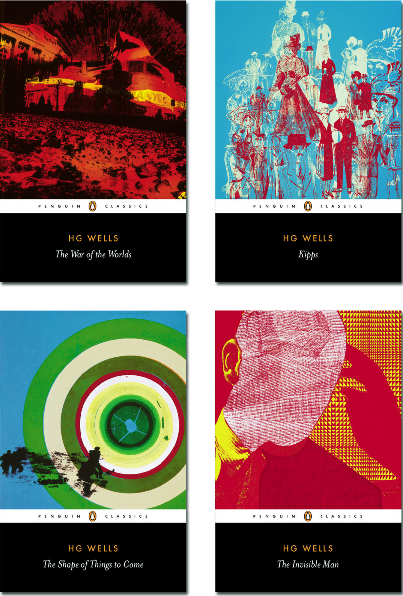"Kate Gibb / Book Covers / Penguin Classics - H. G. Wells<span class=""slide_numbers""><span class=""slide_number"">1</span>/12</span>"