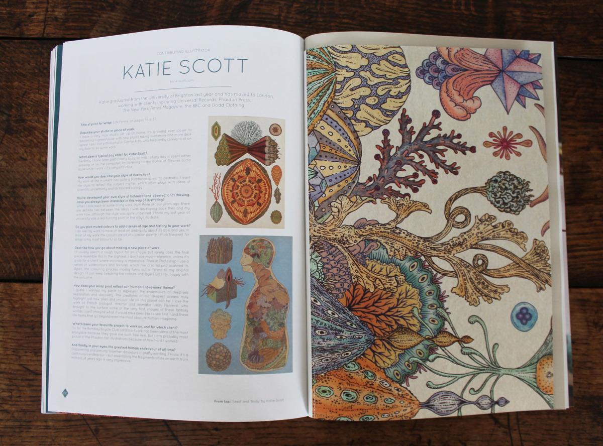 "Katie Scott / Editorial / Wrap<span class=""slide_numbers""><span class=""slide_number"">3</span>/4</span>"