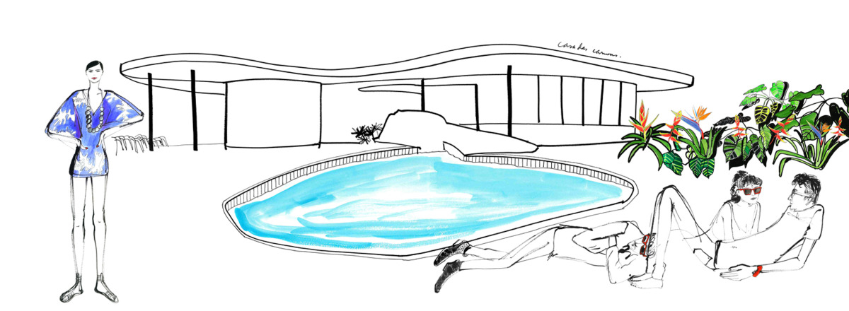 """Filipe Jardim / Fashion Illustration / Fashion Rio<span class=""""slide_numbers""""><span class=""""slide_number"""">5</span>/6</span>"""