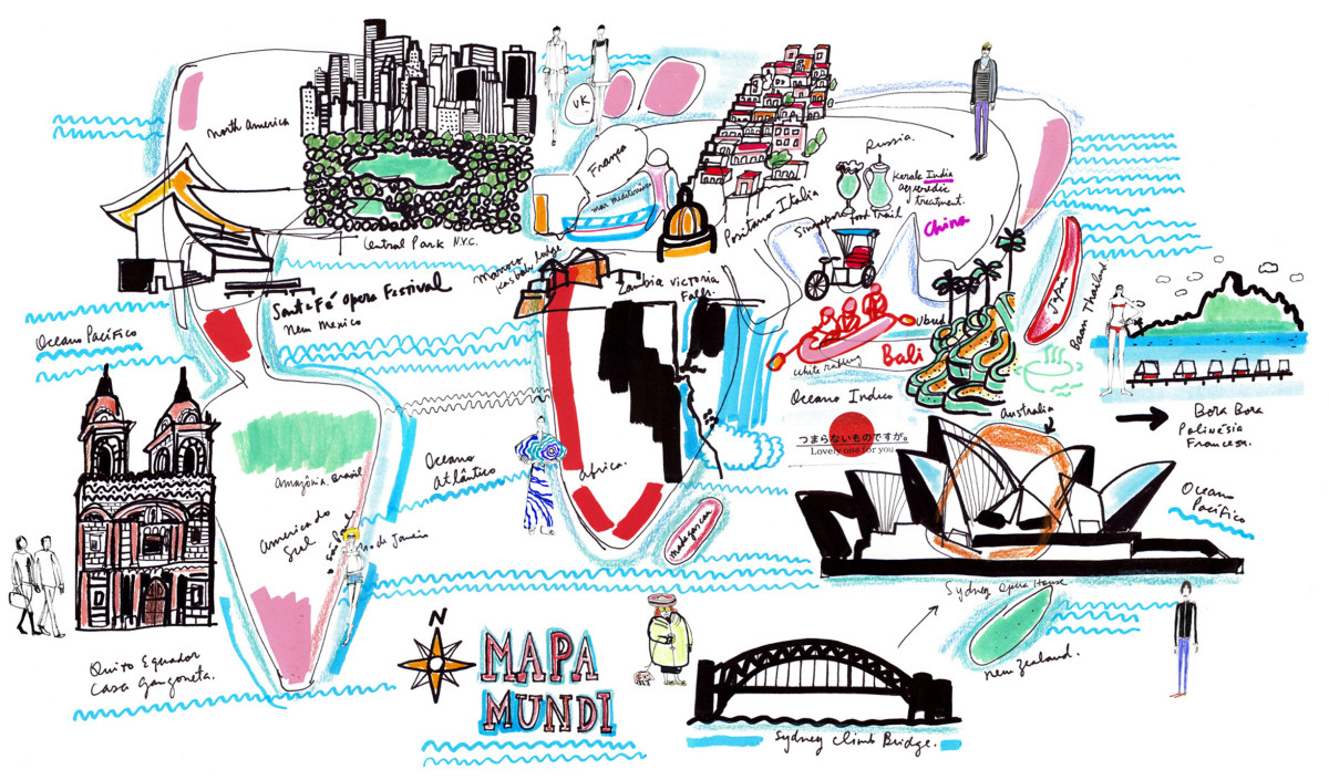 "Filipe Jardim / Travel Illustration / Maps<span class=""slide_numbers""><span class=""slide_number"">1</span>/1</span>"
