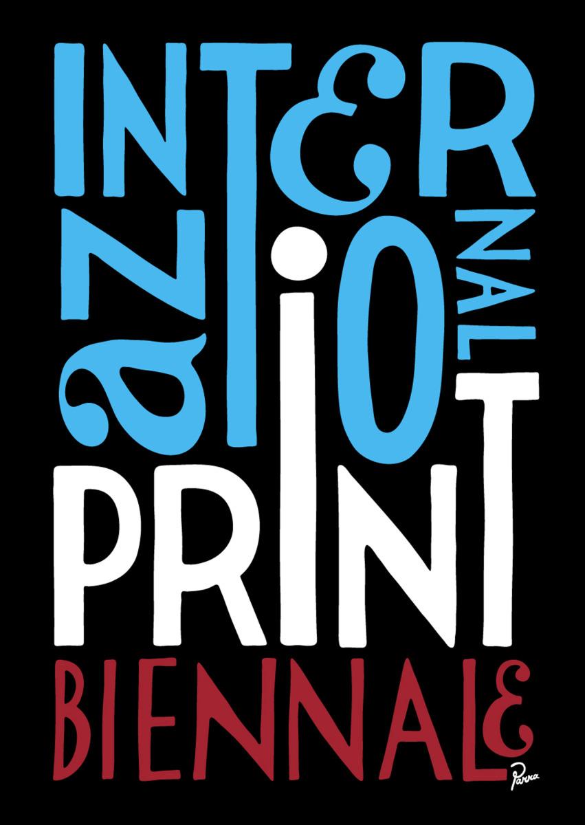 "Parra / Commercial Work / Print Biennale<span class=""slide_numbers""><span class=""slide_number"">1</span>/3</span>"