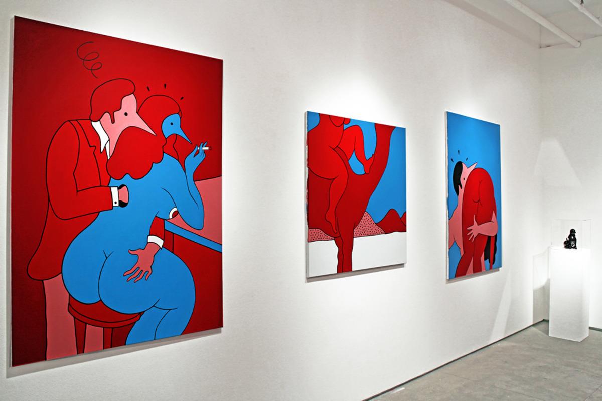 "Parra / Exhibition / Tracy Had A Bad Sunday<span class=""slide_numbers""><span class=""slide_number"">2</span>/4</span>"
