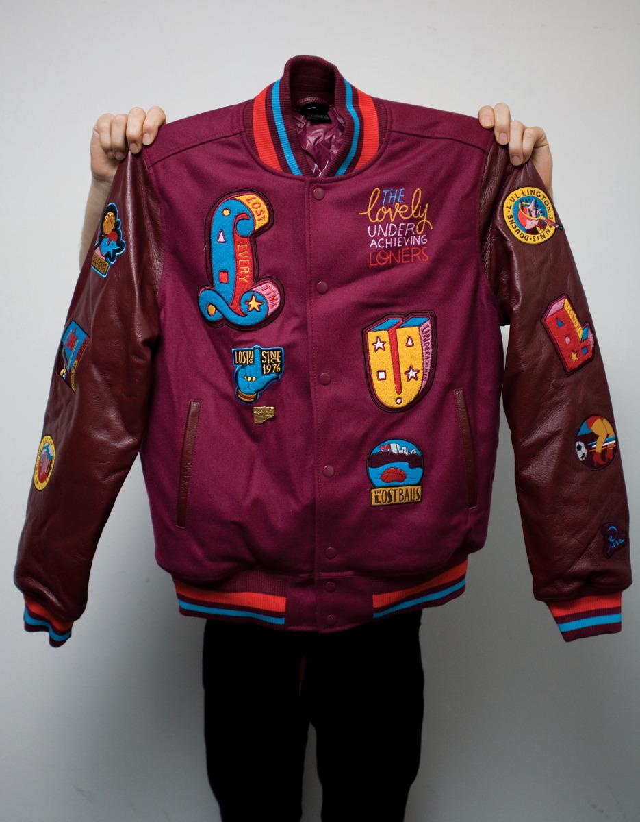 "Parra / Product & Licensing / Nike Varsity Jacket<span class=""slide_numbers""><span class=""slide_number"">1</span>/1</span>"