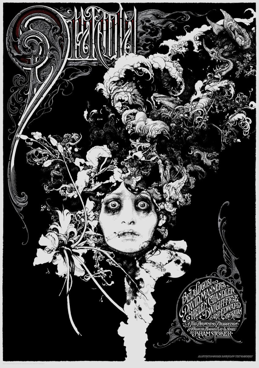 "Vania Zouravliov / Commercial Work / Dracula Poster<span class=""slide_numbers""><span class=""slide_number"">4</span>/4</span>"