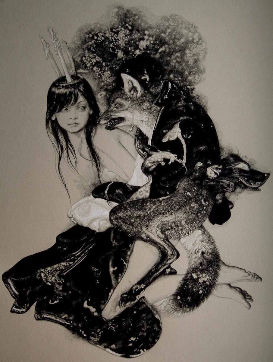 """Vania Zouravliov / Personal Work / Kitsune<span class=""""slide_numbers""""><span class=""""slide_number"""">1</span>/1</span>"""