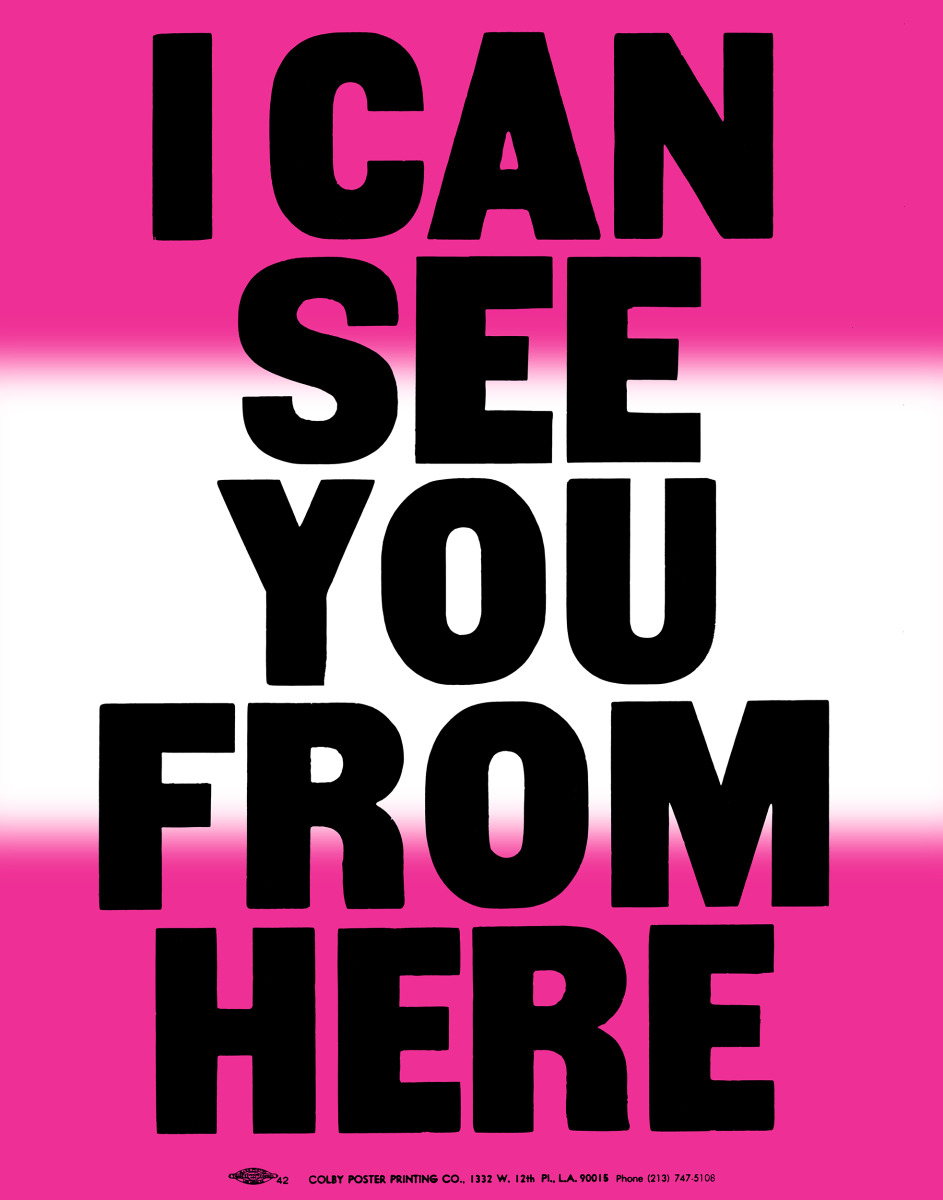 """Anthony Burrill / Personal Work / Made In LA<span class=""""slide_numbers""""><span class=""""slide_number"""">5</span>/11</span>"""
