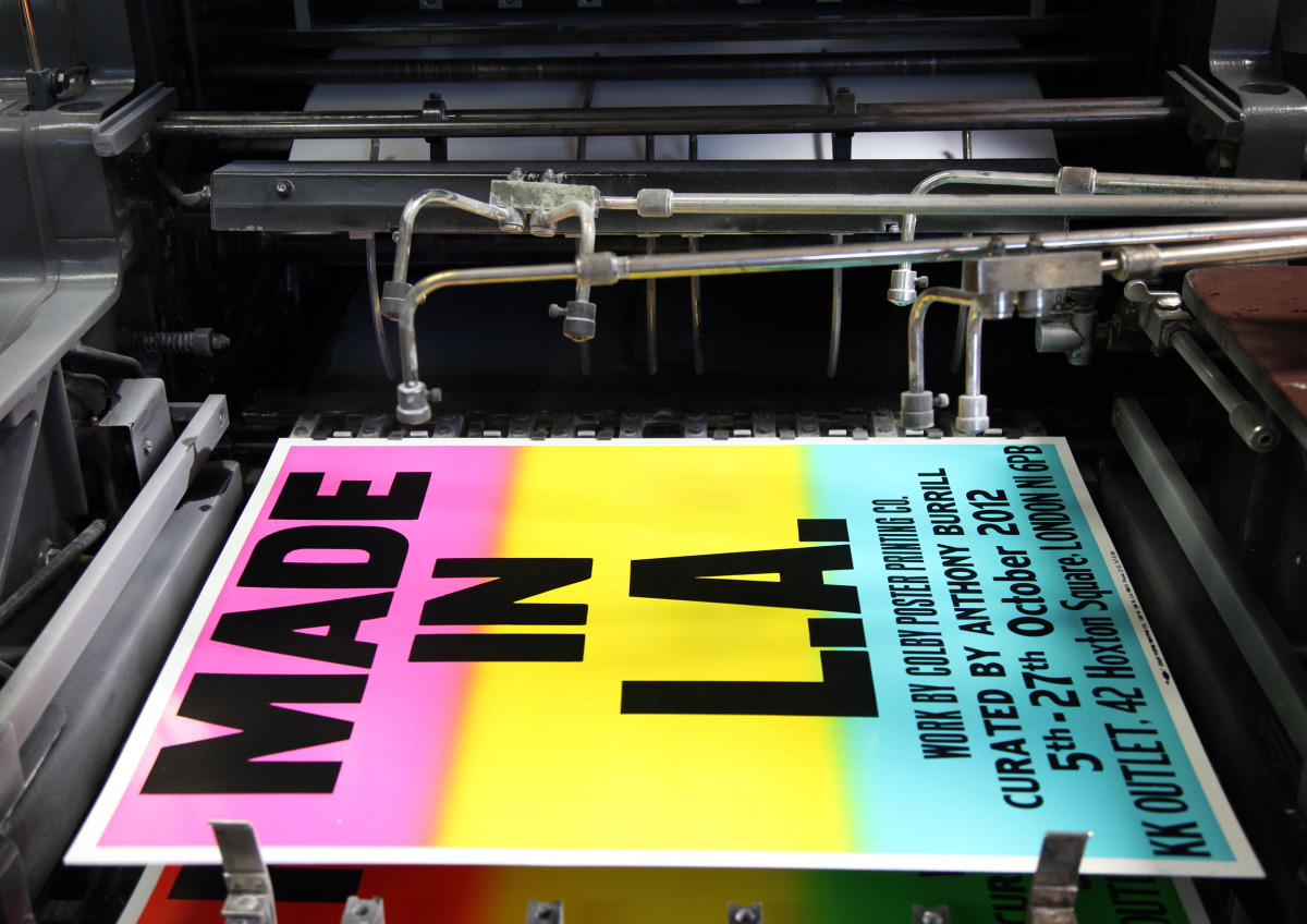 "Anthony Burrill / Personal Work / Made In LA<span class=""slide_numbers""><span class=""slide_number"">10</span>/11</span>"