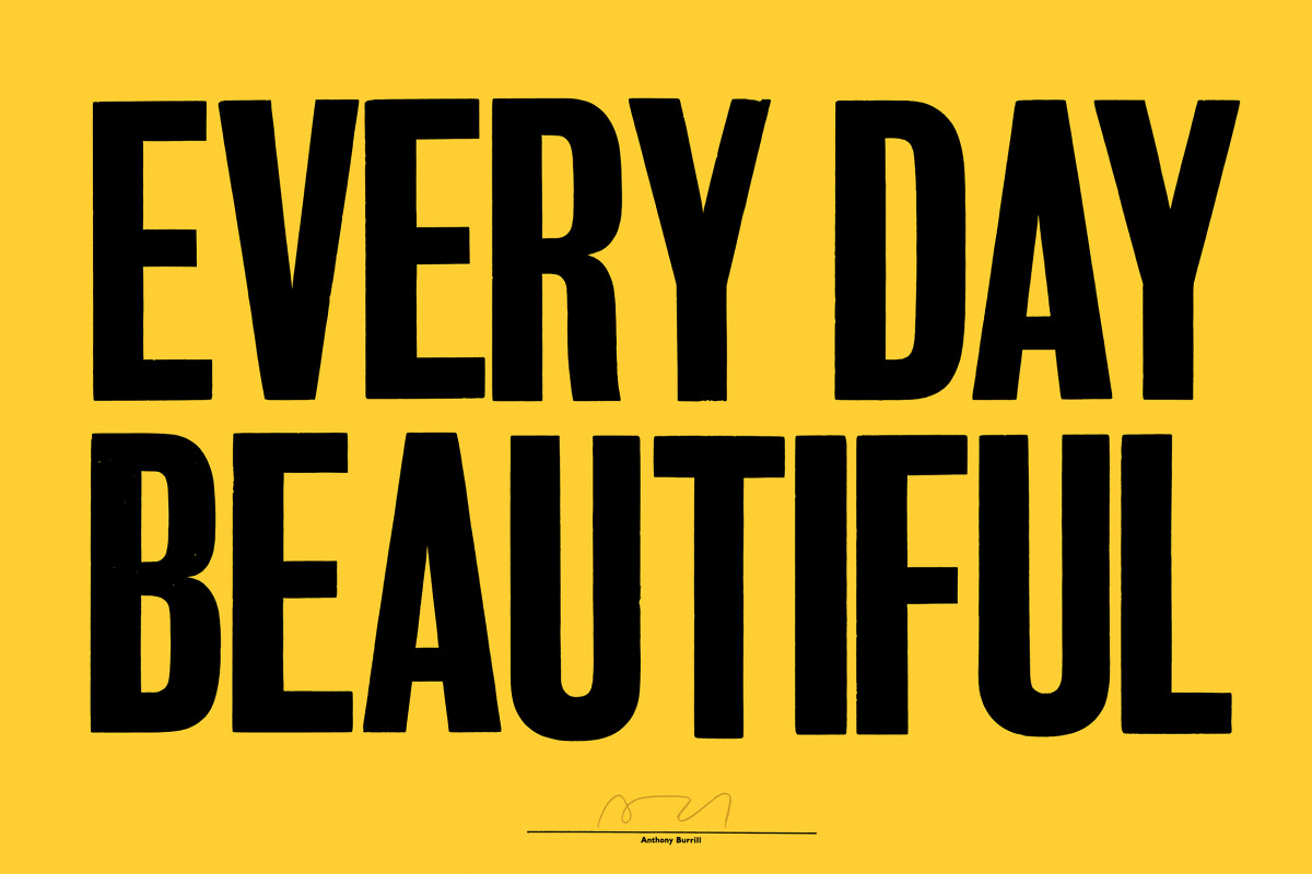 """Anthony Burrill / Personal Work / Woodblock Posters<span class=""""slide_numbers""""><span class=""""slide_number"""">3</span>/8</span>"""