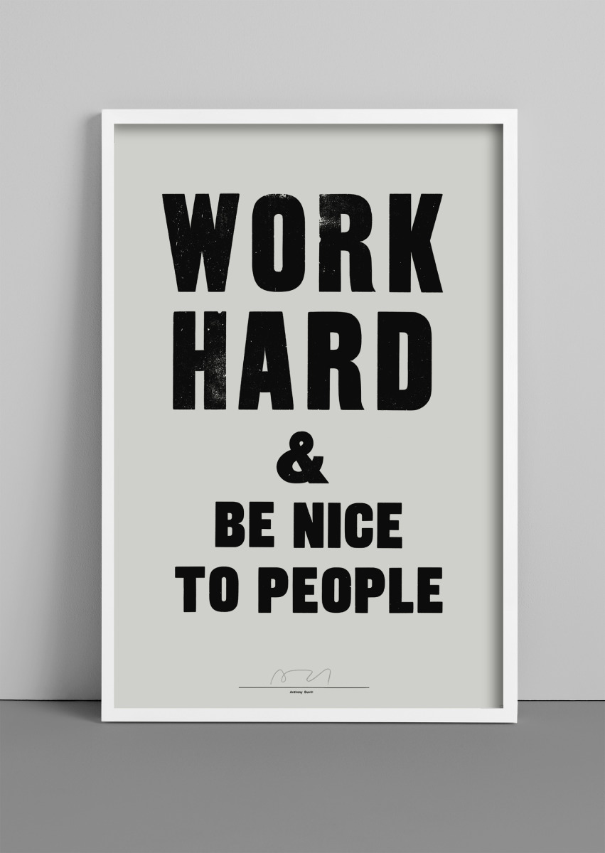 """Anthony Burrill / Personal Work / Woodblock Posters<span class=""""slide_numbers""""><span class=""""slide_number"""">1</span>/8</span>"""