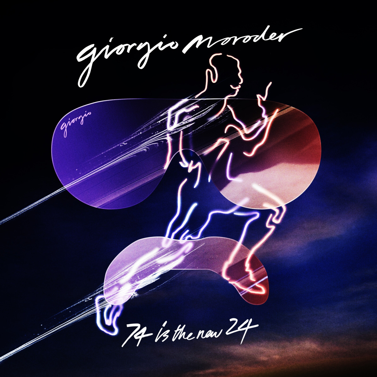 """Music / Giorgio Moroder / 74 Is The New 24 / Single Cover<span class=""""slide_numbers""""><span class=""""slide_number"""">5</span>/5</span>"""