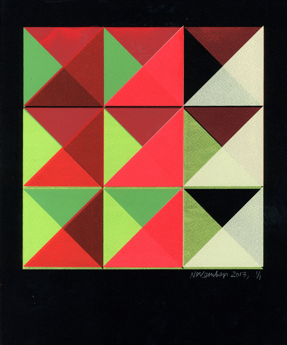 "Kate Gibb / Personal Work / Grid & Geometric<span class=""slide_numbers""><span class=""slide_number"">5</span>/5</span>"