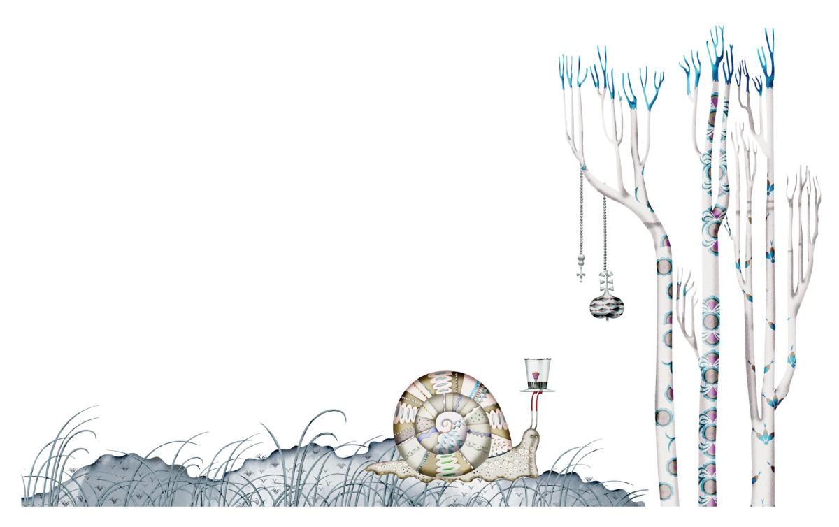 """Klaus Haapaniemi / Commercial Work / Isetan Artworks 2011<span class=""""slide_numbers""""><span class=""""slide_number"""">10</span>/17</span>"""