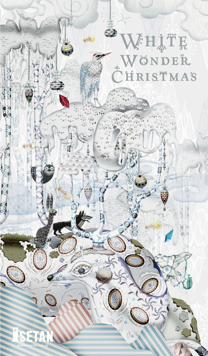 """Klaus Haapaniemi / Commercial Work / Isetan Artworks 2011<span class=""""slide_numbers""""><span class=""""slide_number"""">3</span>/17</span>"""