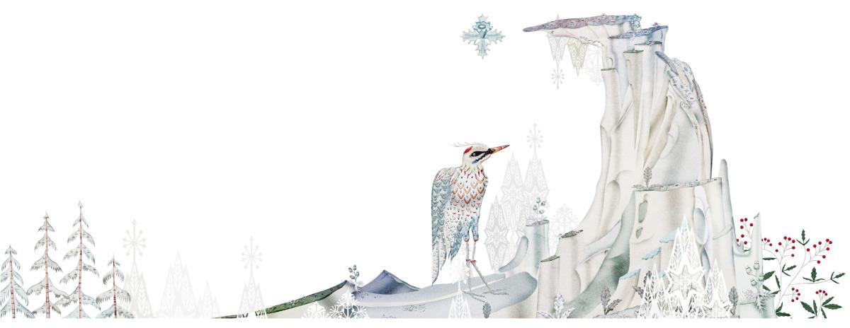 """Klaus Haapaniemi / Commercial Work / Isetan Artworks 2011<span class=""""slide_numbers""""><span class=""""slide_number"""">15</span>/17</span>"""
