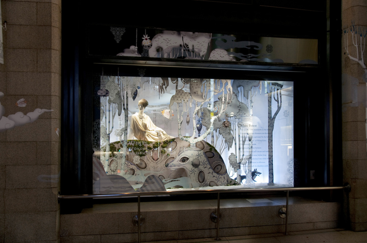"""Klaus Haapaniemi / Commercial Work / Isetan Interiors 2011<span class=""""slide_numbers""""><span class=""""slide_number"""">22</span>/22</span>"""