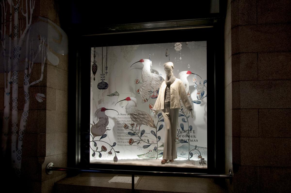 """Klaus Haapaniemi / Commercial Work / Isetan Interiors 2011<span class=""""slide_numbers""""><span class=""""slide_number"""">21</span>/22</span>"""