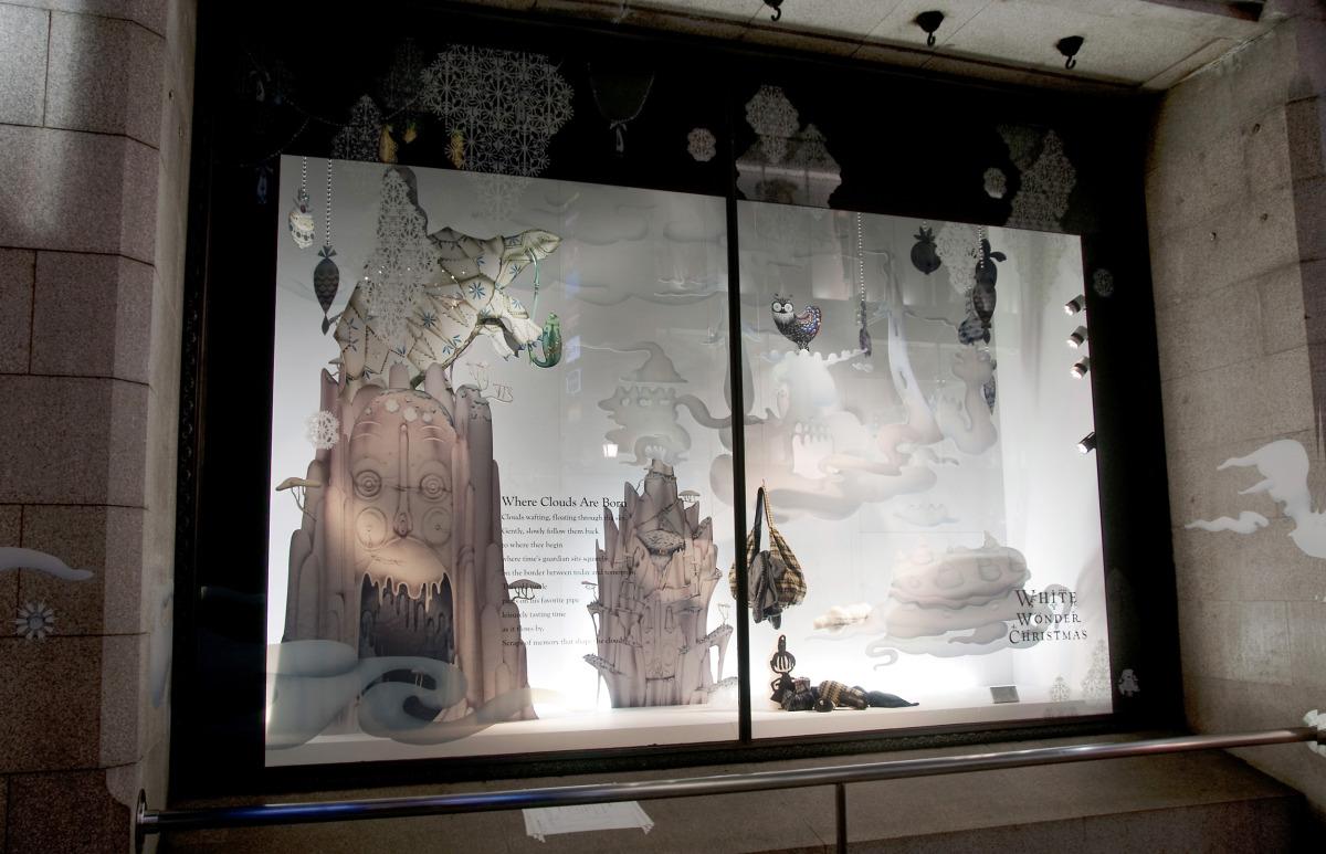 """Klaus Haapaniemi / Commercial Work / Isetan Interiors 2011<span class=""""slide_numbers""""><span class=""""slide_number"""">18</span>/22</span>"""