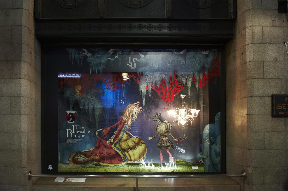 """Klaus Haapaniemi / Commercial Work / Isetan Interiors 2012<span class=""""slide_numbers""""><span class=""""slide_number"""">15</span>/26</span>"""