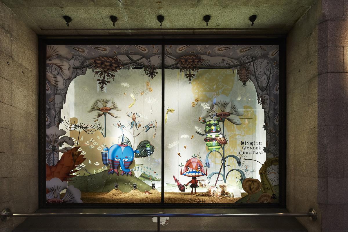 """Klaus Haapaniemi / Commercial Work / Isetan Interiors 2013<span class=""""slide_numbers""""><span class=""""slide_number"""">15</span>/18</span>"""