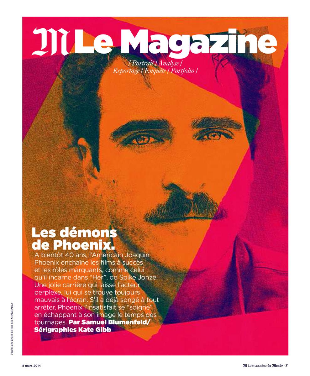 "Kate Gibb / Editorial / Le Monde - Joaquin Phoenix<span class=""slide_numbers""><span class=""slide_number"">5</span>/5</span>"