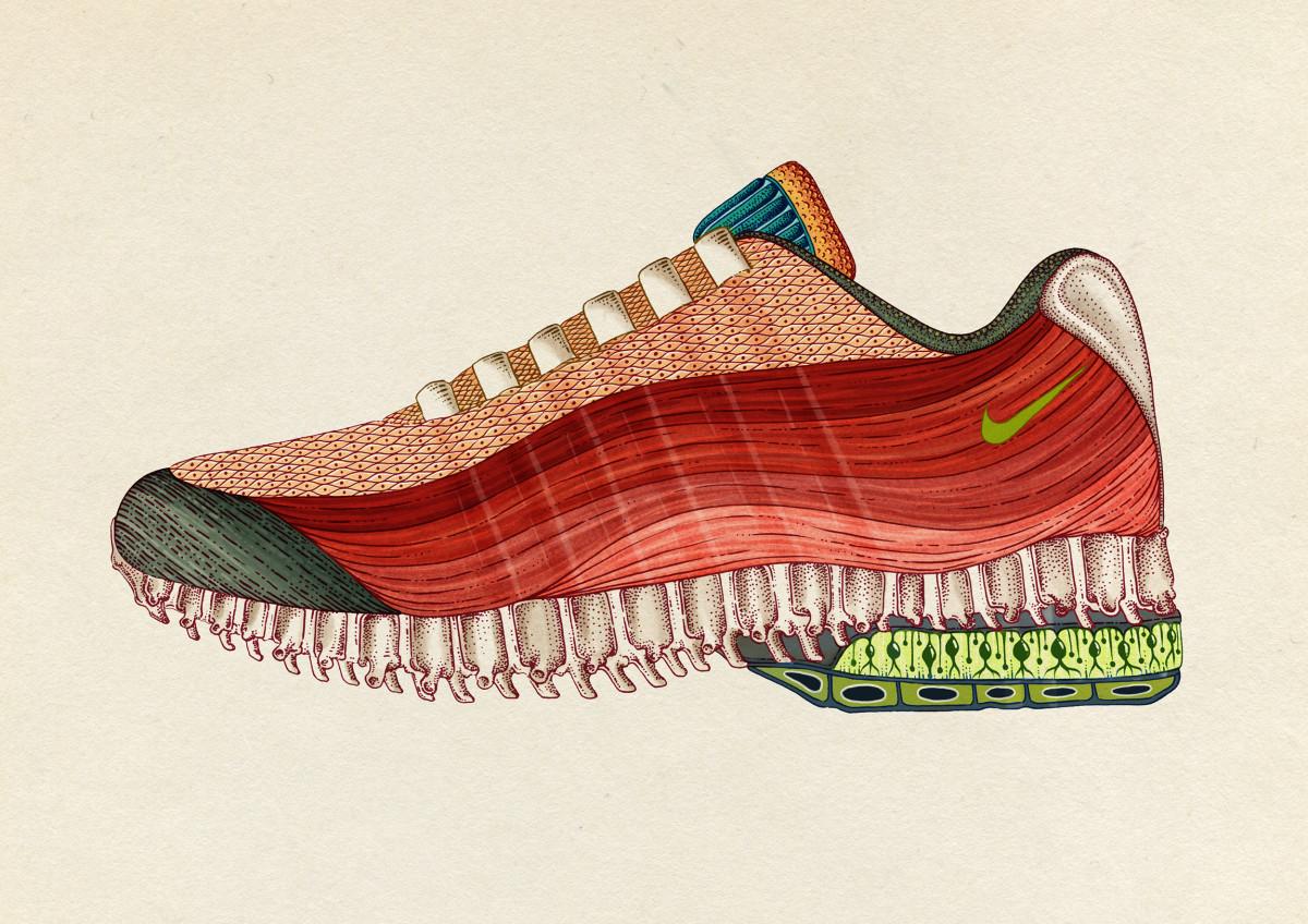 "Katie Scott / Commercial Work / Nike AM95<span class=""slide_numbers""><span class=""slide_number"">1</span>/2</span>"