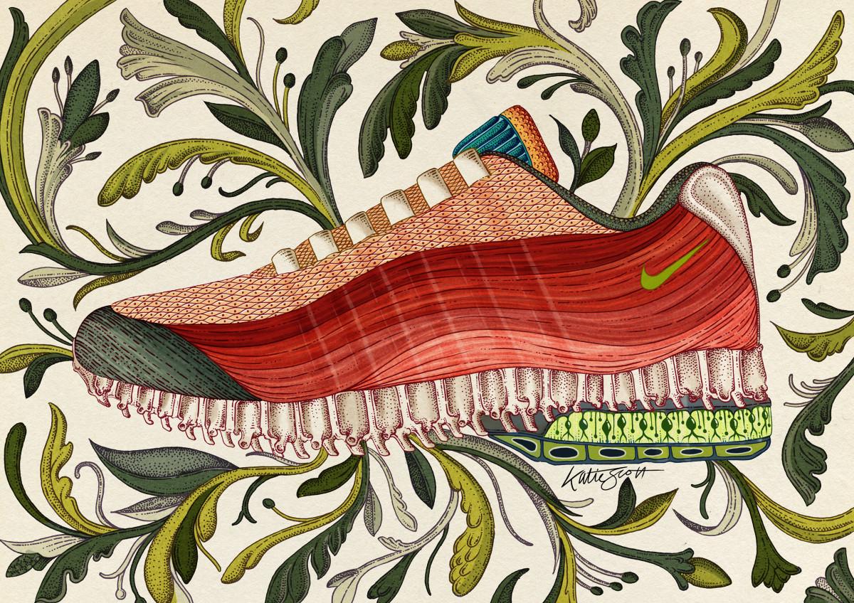 "Katie Scott / Commercial Work / Nike AM95<span class=""slide_numbers""><span class=""slide_number"">2</span>/2</span>"