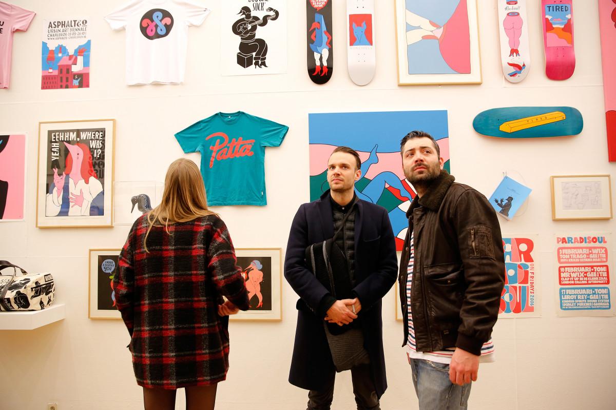 "Parra / Exhibition / Kunsthal Rotterdam<span class=""slide_numbers""><span class=""slide_number"">2</span>/8</span>"