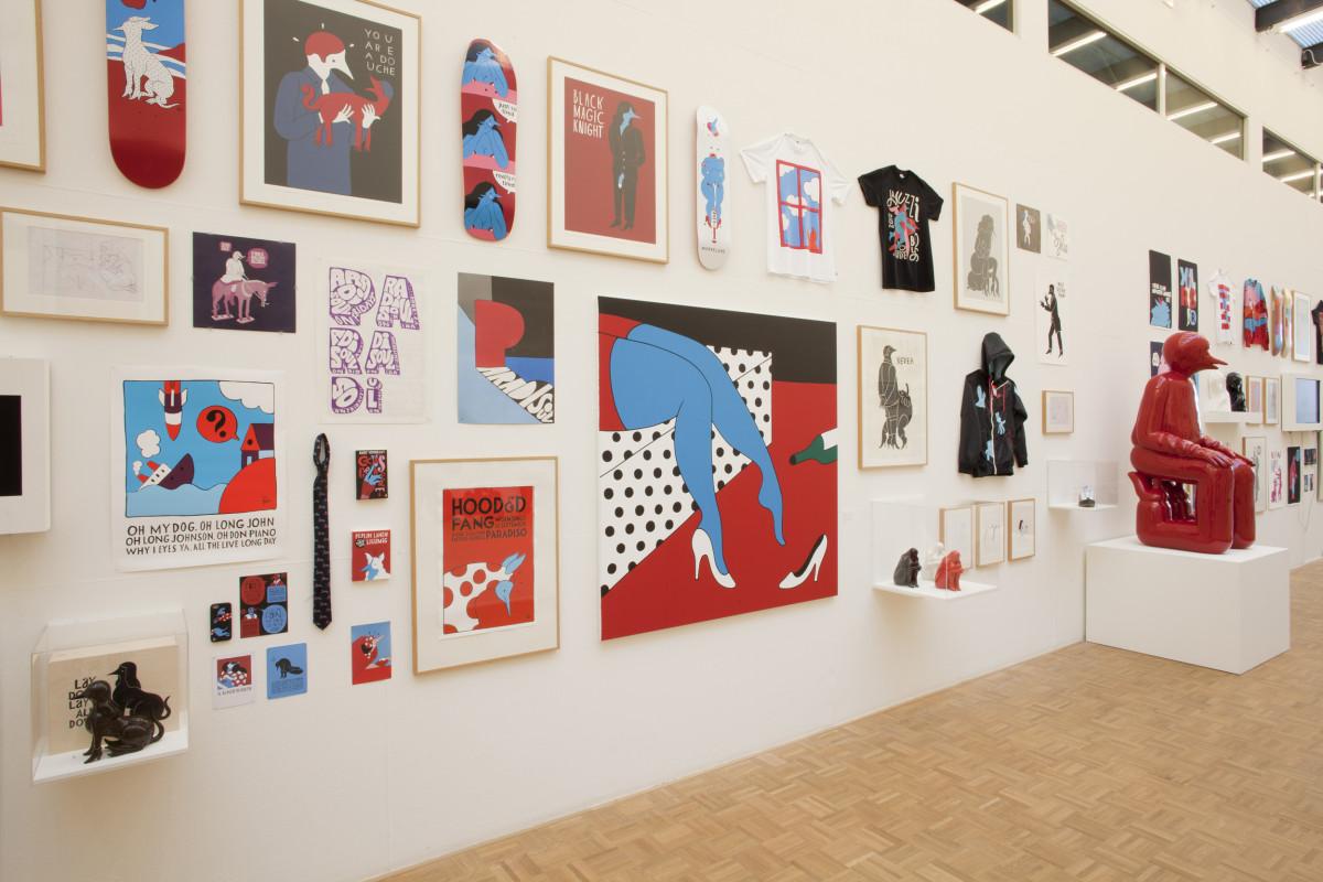 "Parra / Exhibition / Kunsthal Rotterdam<span class=""slide_numbers""><span class=""slide_number"">6</span>/8</span>"