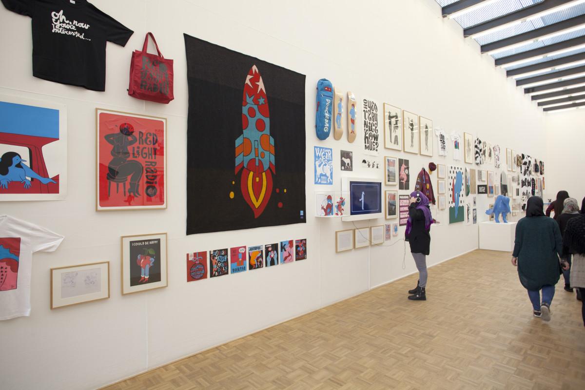 "Parra / Exhibition / Kunsthal Rotterdam<span class=""slide_numbers""><span class=""slide_number"">5</span>/8</span>"