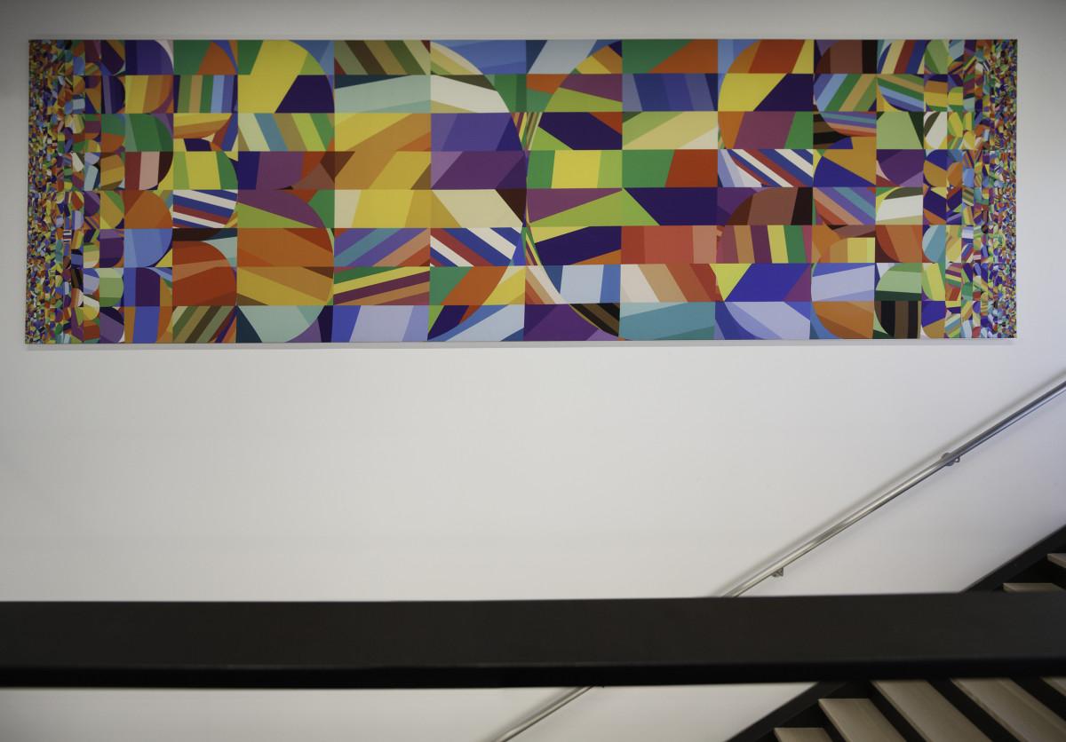"""Siggi Eggertsson / Mural / Dolby HQ Mural<span class=""""slide_numbers""""><span class=""""slide_number"""">1</span>/5</span>"""