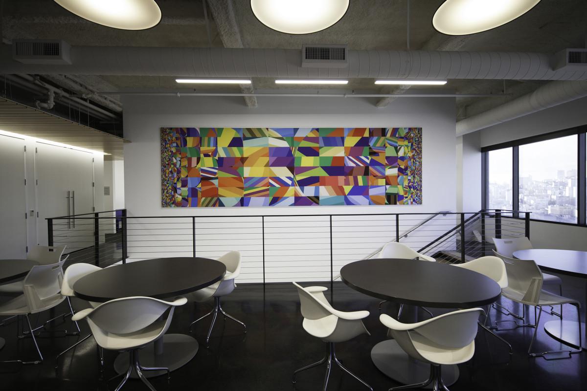 """Siggi Eggertsson / Mural / Dolby HQ Mural<span class=""""slide_numbers""""><span class=""""slide_number"""">2</span>/5</span>"""