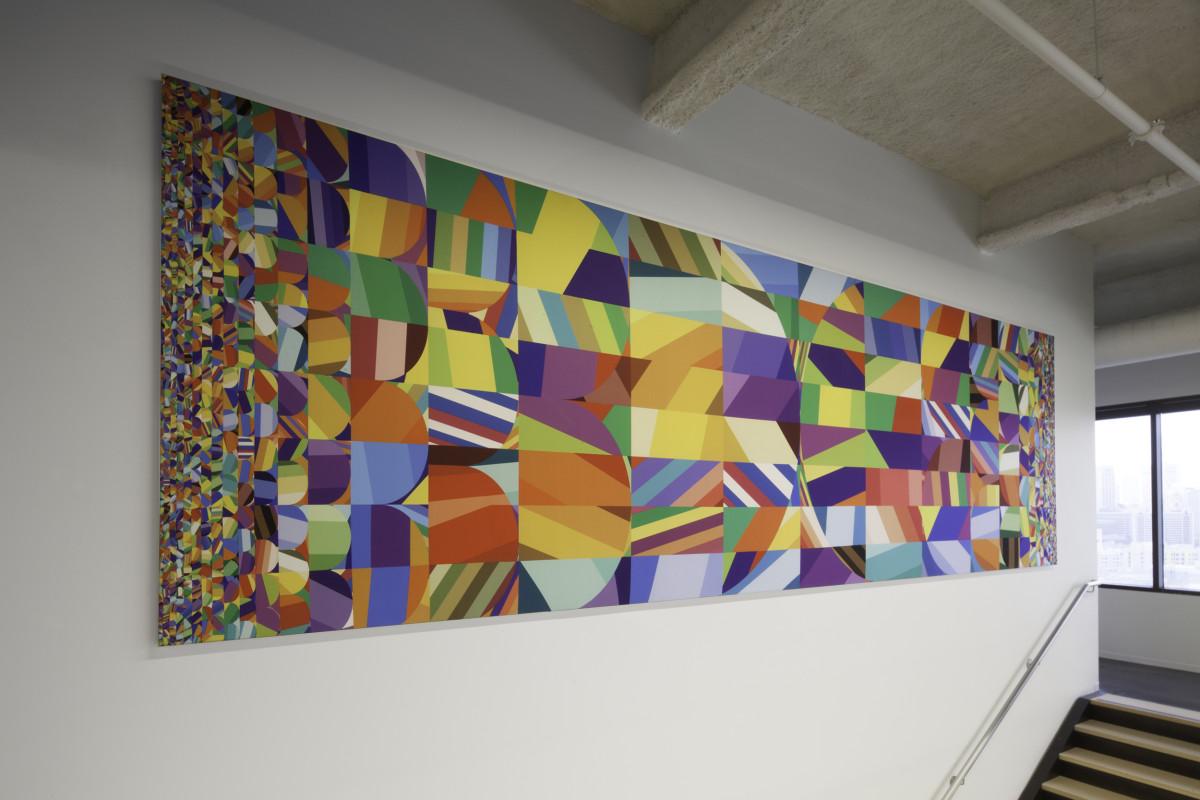 """Siggi Eggertsson / Mural / Dolby HQ Mural<span class=""""slide_numbers""""><span class=""""slide_number"""">5</span>/5</span>"""