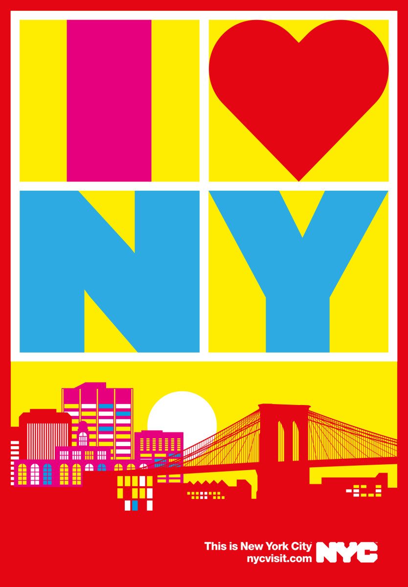"Anthony Burrill / Commercial Work / This Is New York City<span class=""slide_numbers""><span class=""slide_number"">4</span>/5</span>"