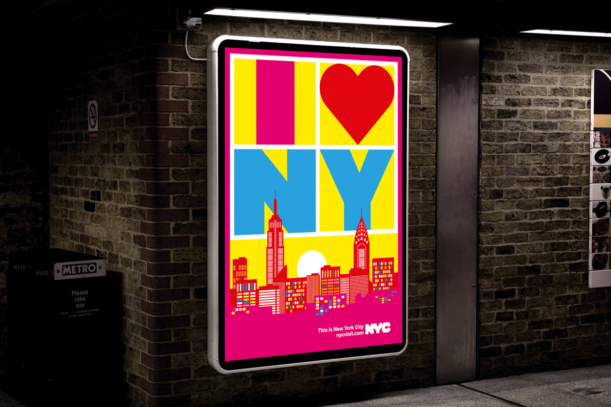 """Anthony Burrill / Commercial Work / This Is New York City<span class=""""slide_numbers""""><span class=""""slide_number"""">1</span>/5</span>"""