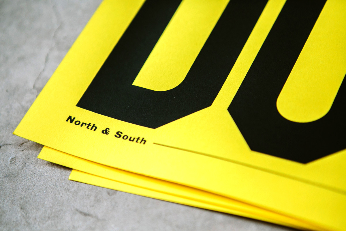 """Anthony Burrill / Exhibition / UP & DOWN<span class=""""slide_numbers""""><span class=""""slide_number"""">2</span>/3</span>"""