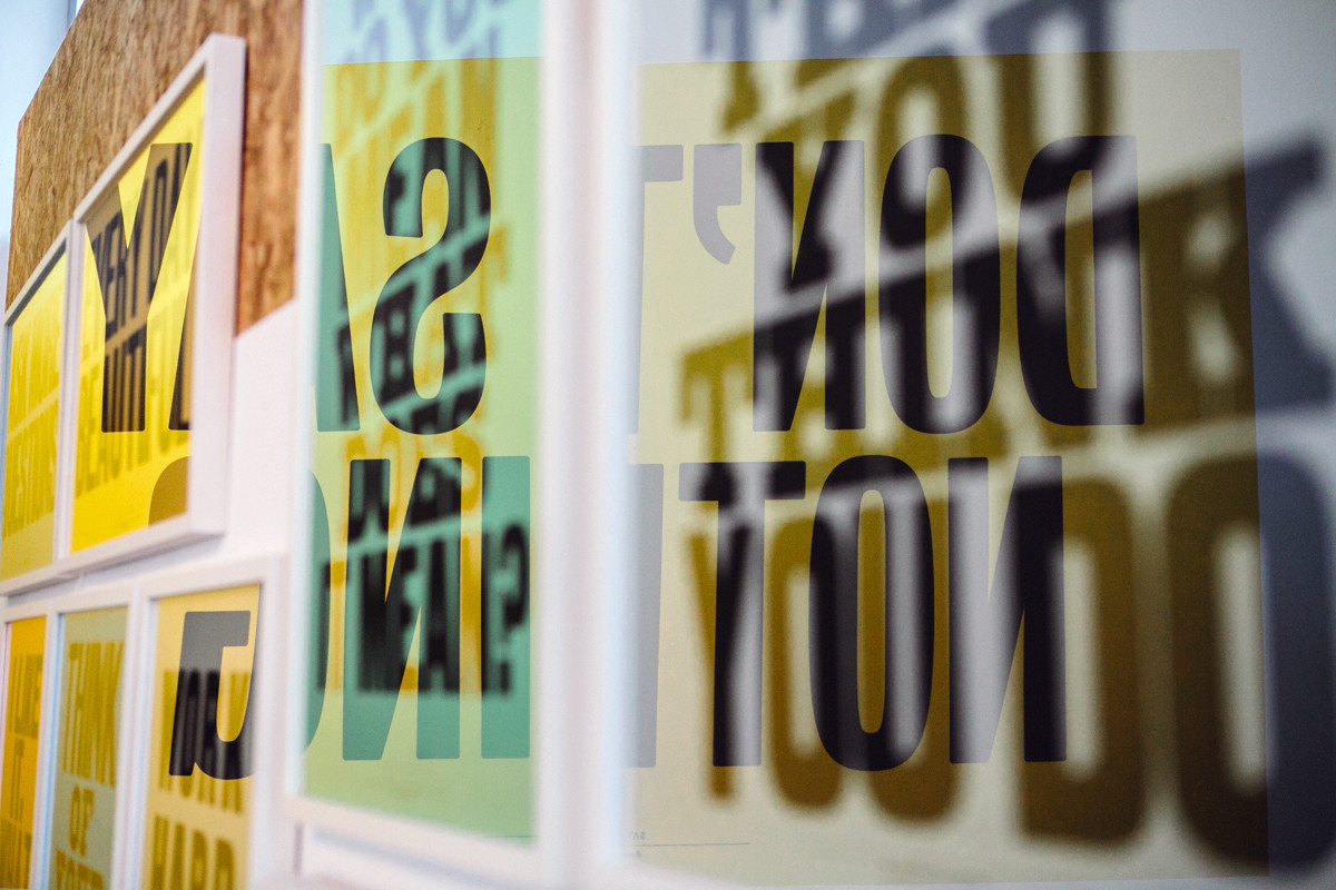 "Anthony Burrill / Exhibition / I LIKE IT - Exhibition<span class=""slide_numbers""><span class=""slide_number"">2</span>/7</span>"