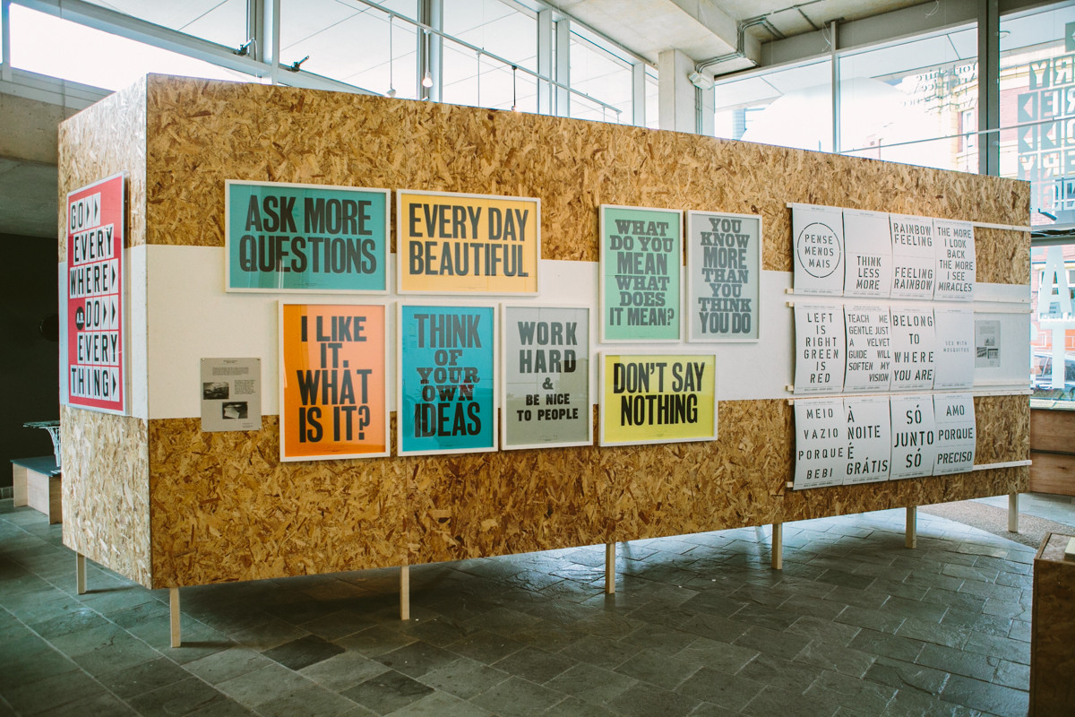 "Anthony Burrill / Exhibition / I LIKE IT - Exhibition<span class=""slide_numbers""><span class=""slide_number"">5</span>/7</span>"