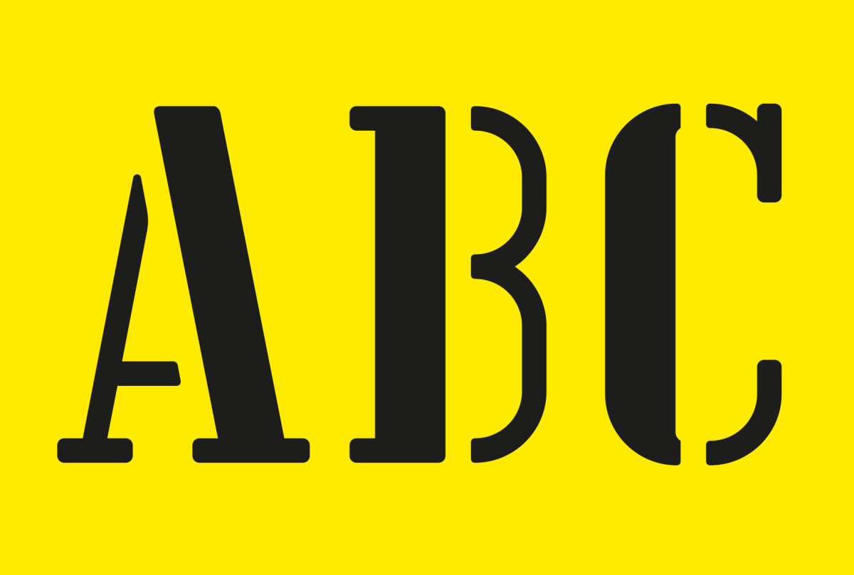 "Anthony Burrill / Commercial Work / Lisbon Font<span class=""slide_numbers""><span class=""slide_number"">3</span>/5</span>"