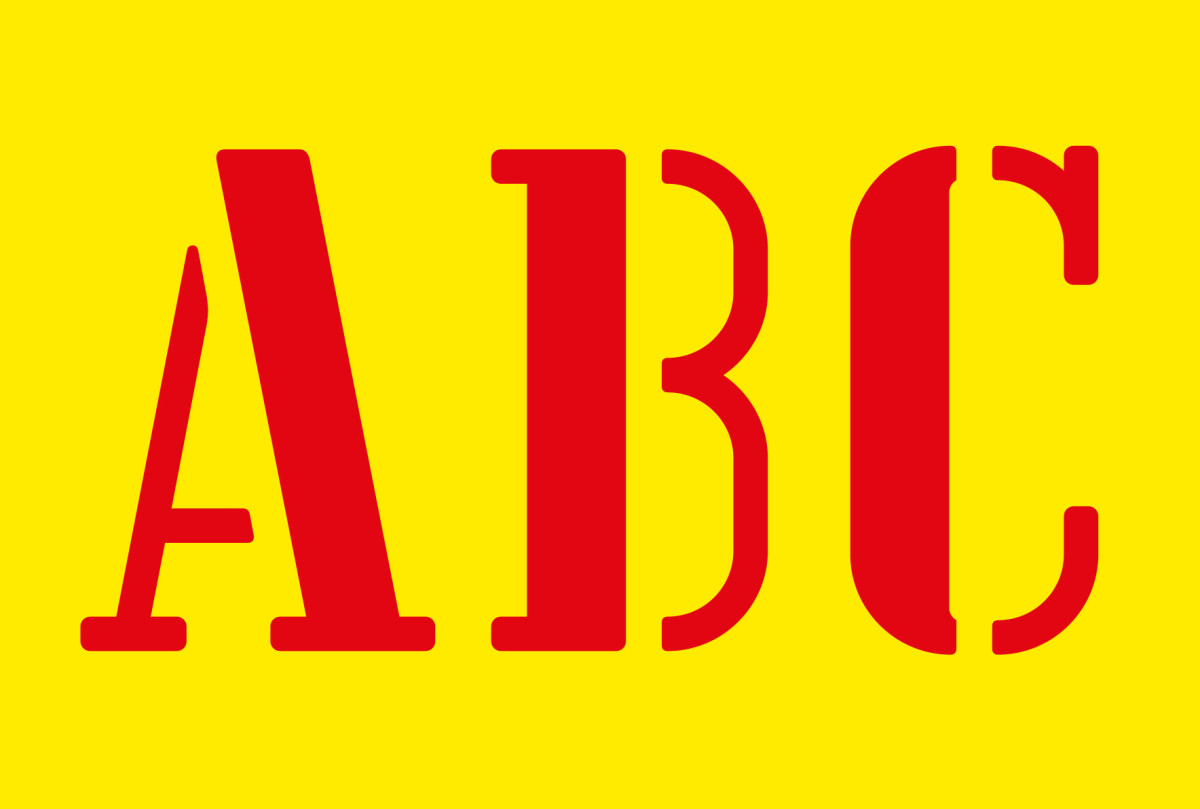 "Anthony Burrill / Commercial Work / Lisbon Font<span class=""slide_numbers""><span class=""slide_number"">5</span>/5</span>"