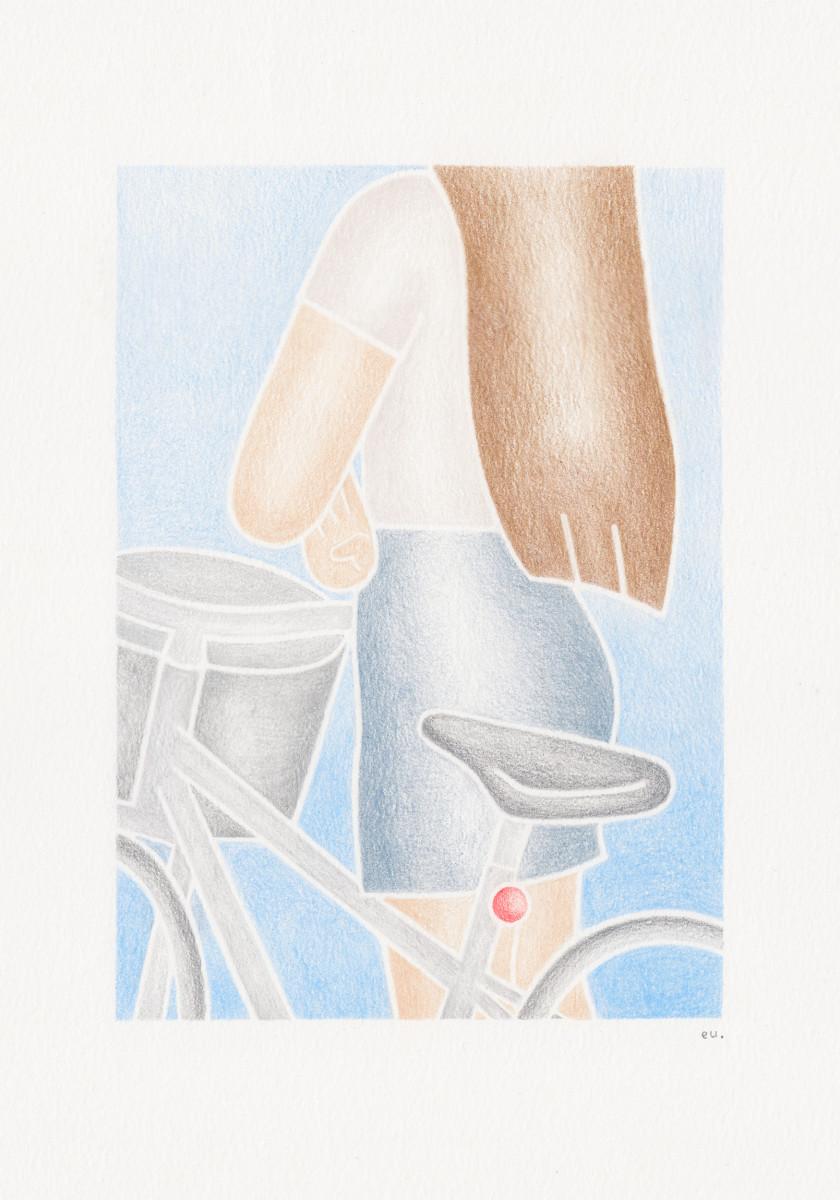 """Emi Ueoka / Personal Work / A Girl With A Bike<span class=""""slide_numbers""""><span class=""""slide_number"""">1</span>/1</span>"""