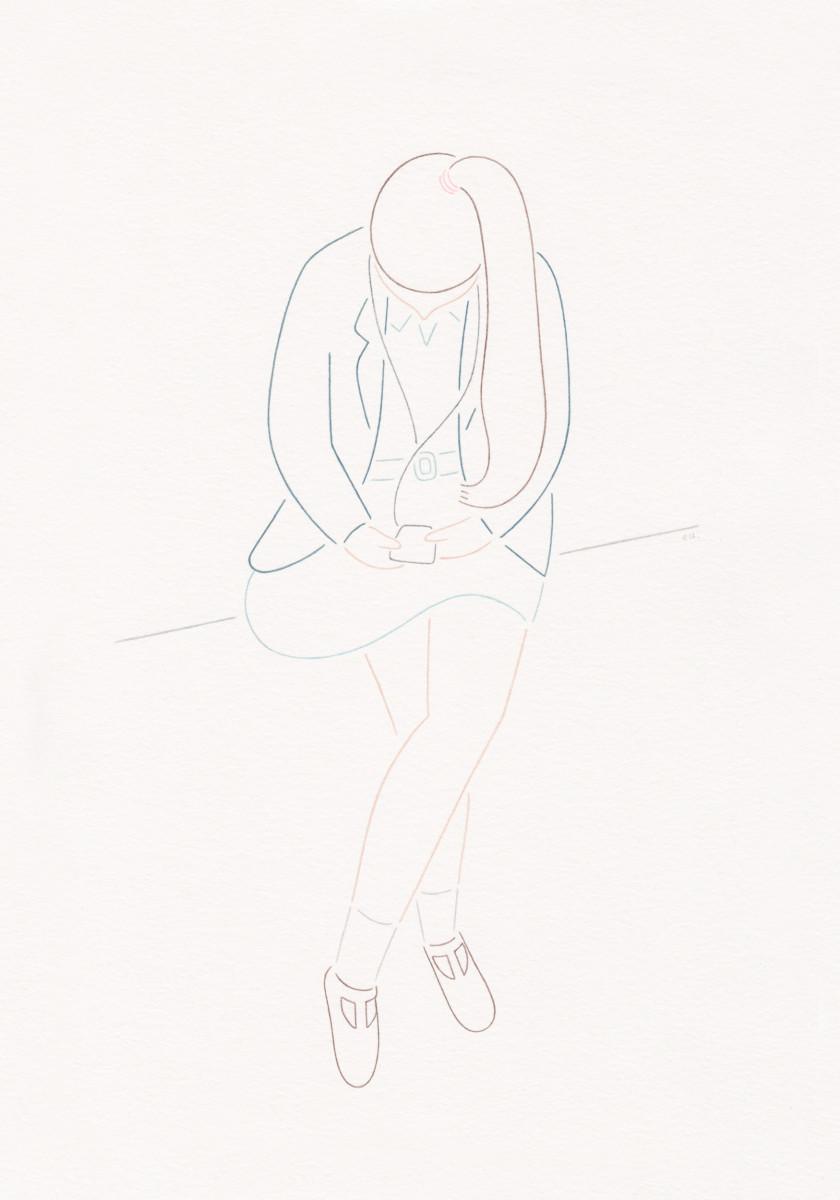 "Emi Ueoka / Personal Work / Girls II<span class=""slide_numbers""><span class=""slide_number"">3</span>/5</span>"