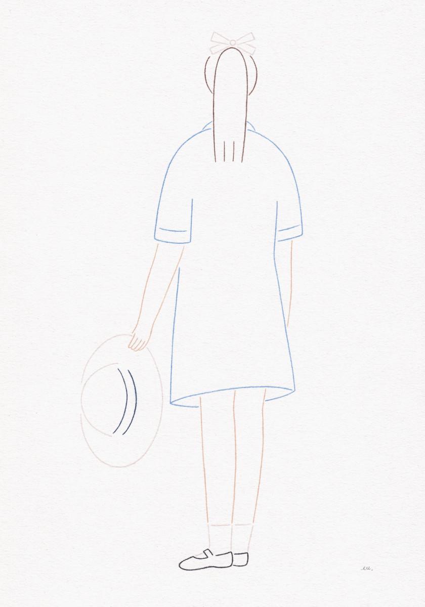 "Emi Ueoka / Personal Work / Girls<span class=""slide_numbers""><span class=""slide_number"">1</span>/5</span>"
