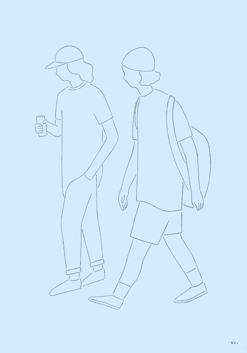 "Emi Ueoka / Personal Work / Skater Boys<span class=""slide_numbers""><span class=""slide_number"">1</span>/1</span>"